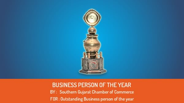 Outstanding Business person of the year
