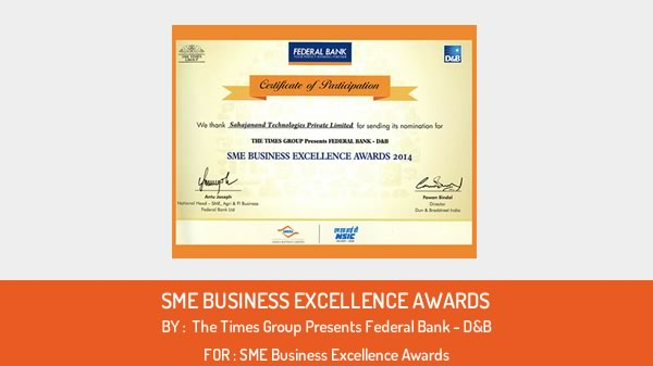 SME Business Excellence Awards 2014